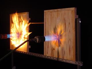 不燃木材比較燃焼実験.JPG